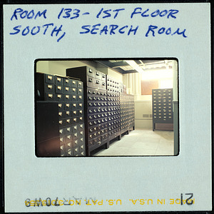 Smithsonian Institution Archives, Smithsonian Institution Building, or Castle