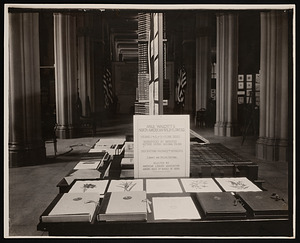 Conference on the Future of the Smithsonian, Smithsonian Library Exhibit