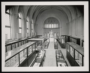 Graphic Arts Exhibit, Smithsonian Institution Building, or Castle