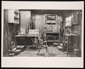 Physical Sciences Exhibit, Arts and Industries Building - Henry Fitz Telescope Workshop