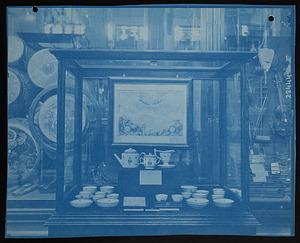Society of the Cincinnati China Set, North Hall, United States National Museum