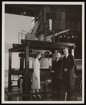 Presentation of Jacquard Loom to the Museum of History and Technology