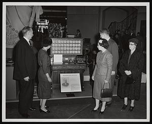 Opening of U.S. Census Exhibit, Arts and Industries Building