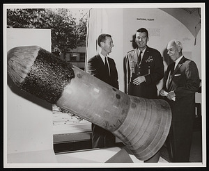 Presentation of RVX1-5 Missile Reentry Nose Cone to National Air Museum