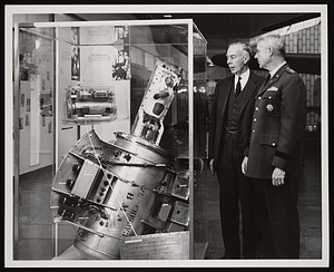 Presentation of Able-Baker Space Flight Equipment to National Air Museum