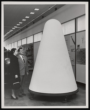 Able-Baker Nose Cone, National Air Museum